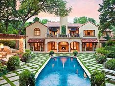 Spanish-Infused Estate in Dallas Texas