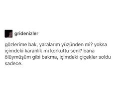 Image about text in Turkish quotes 💯 by e on We Heart It Sad Texts, My Philosophy, Sad Life, Twitter Quotes, Meaningful Quotes, Book Quotes, Beautiful Words, Cool Words, Karma