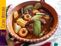 Mole de Olla - YouTube
