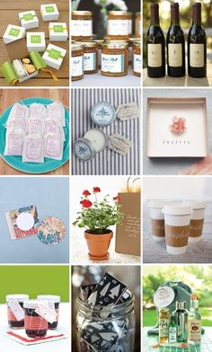 70 fab ideas for your favors from our real weddings