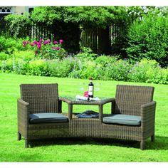 Best Duo Loungesessel LUNA doppelt einladend Ihr Online Shop f r exklusive Gartenm bel