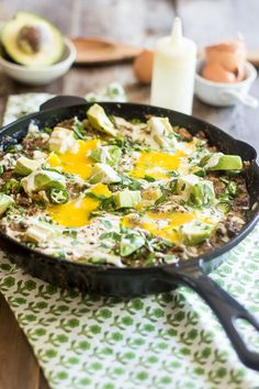 Creamy Cauliflower Ground Beef Skillet | Community Post: 30 Recipes To Help You Survive Whole30
