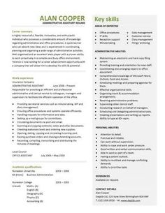 this professionally designed administrative assistant resume shows a candidates ability to provide clerical support and resolve - Sample Administrative Assistant Resume