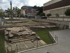 The ruins of Valongo Wharf, where an estimated 10 per cent of Brazil's close to 5 million slaves arrived. Rio is believed to have brought in more slaves than any other city in the Americas. Valongo Wharf was unearthed in 2011 during renovations related to the upcoming Olympic Games. This article discusses the oft-overlooked story of Brazil's slave history in terms of its impact on the development of this area of Rio -- an excellent social studies or Olympics 2016 read for students.