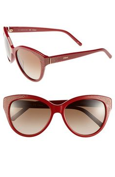 chloe-suzanna-56mm-cat-eye-sunglasses-red