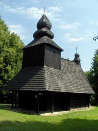 Ruska Bystra wooden church Slovakia