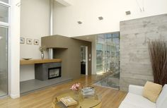 Living - modern - living room - los angeles - Equinox Architecture Inc. - Jim Gelfat
