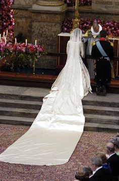 Kronprins Frederik og kronprinsesse Mary blev gift den 14. maj 2004.