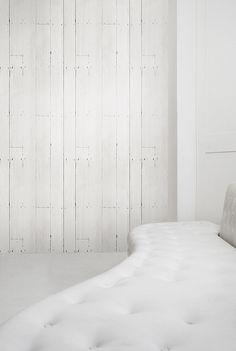 White Sofa in a white room