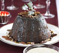 Not your traditional Christmas pud, but a winner with our food team. A cross between sticky toffee and Christmas pud with a lighter feel