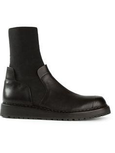 Shop Kris Van Assche fitted ankle boots