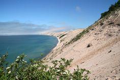 Sand dunes, Pictured Rocks National Park, Upper Peninsula of Michigan