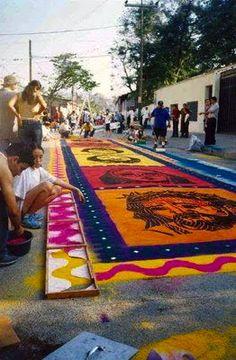 Feria en Omoa