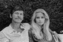 Charles Bronson & Jill Ireland