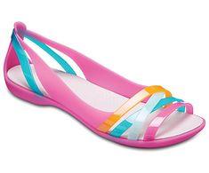 ea16c6a76f2d Crocs Isabella Huarache II Flats Women s Crocs