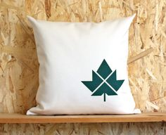 Big Maple Leaf Pillow Goshen College, Polar Bear Tattoo, Shop Local, Barn Quilts, Screenprinting, Make Your Mark, Outlines, Design Reference, Tattoo Inspiration