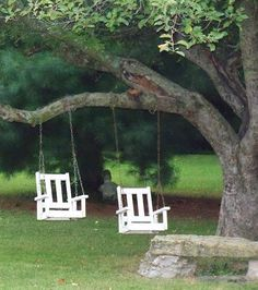 His and Her Swings