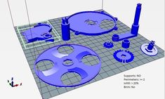 You can use it to order coins or count the change in coins if yo 3d Printer Projects, 3d Projects, Coin Sorting, Euro Coins, 3d Printing, 3d Files, The 100, 3d Scanners, Printables