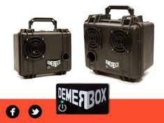 DEMERBOX - Rugged Wireless Boomboxes by DemerBox — Kickstarter