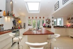 Large family kitchen