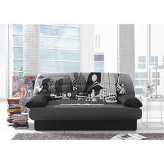 199.99 € ❤ Les #Canapes pas chers - COCO #Banquette clic-clac 3 places tissu polyester imprimé #NewYork convertible #lit + coffre ➡ https://ad.zanox.com/ppc/?28290640C84663587&ulp=[[http://www.cdiscount.com/maison/canape-canapes/coco-banquette-clic-clac-convertible-lit-coffre/f-1170104-auc5201522417504.html?refer=zanoxpb&cid=affil&cm_mmc=zanoxpb-_-userid]]