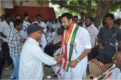 Vikram Goud with People.