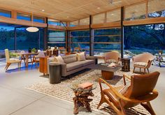 I love this open room...great design.    desire to inspire - desiretoinspire.net - Down on theranch