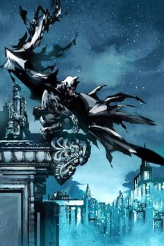 I Watch Over Gotham Not as Hero But as Justice
