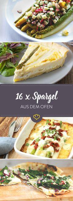 Das Spargel mehr kann, als in Schinken gewickelt zu werden, beweisen dir unsere Foodblogger mit ihren 16 raffinierten Spargelrezepten aus dem Ofen.