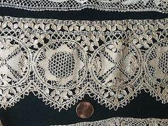 Three-VAntique-Maltese-bobbin-lace-study-pieces-COLLECT