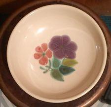 "Vintage Franciscan China 7"" Bowl Floral Earthenware 53-73,  Discontin."
