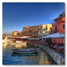 Old port of Rethymno, Crete