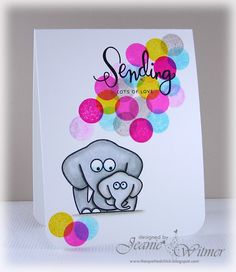 The Spotted Chick: Happy Mother's Day MFMIL!, Hero Arts, Lil' Hoot, Mother's Day, Handmade Card, CAS