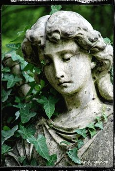 Angel Face with Ivy