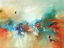 """Wildfire by Filomena Booth (Acrylic Painting) (30"""" x 40"""")"""