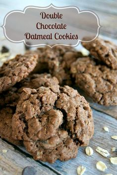 That old-fashioned oatmeal cookie made better with cocoa and dark chocolate chips! (scheduled via http://www.tailwindapp.com?utm_source=pinterest&utm_medium=twpin&utm_content=post482561&utm_campaign=scheduler_attribution)