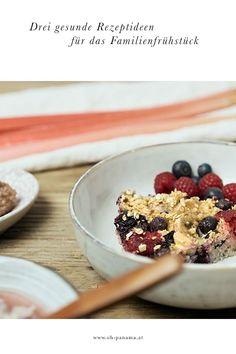 Rezepte: Gesunde Frühstücksideen mit Haferflocken. Porridge ist der Allrounder am Küchentisch. Deswegen haben wir gleich drei Rezepte für euch vorbereitet. Ein Baked Oatmeal - ein Haferflockenauflauf also - mit frischen Beeren, ein cremiges Porridge mit M Baby Led Weaning, Panama, Cereal, Oatmeal, Clean Eating, To Go, Breakfast, Food, Almond Milk