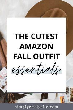 Cute Fall Fashion, Autumn Fashion, Fall Season, Lifestyle Blog, Fall Outfits, Budgeting, Group, Amazon, Board