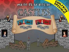 Micro Play-Break: Castles -- A Durable, Always-with-you Game