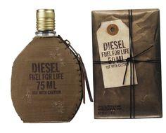 Procurando dica para o Dia dos Namorados? Perfume Diesel Fuel For Life Masculino 50ML, por apenas U$42,50 na Loja Charme