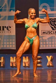 76yrs young Ernestine SHEPHERD...how cool is she? Hope to be this cool at 76!!!!!