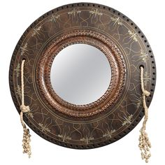 Carlo Bugatti Dragonfly Wall Mirror, circa 1898, Milano, Italy. | From a unique collection of antique and modern wall mirrors at http://www.1stdibs.com/furniture/mirrors/wall-mirrors/