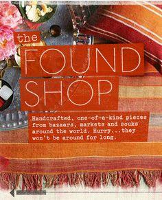 the found shop - west elm
