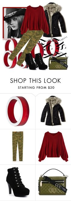 """""""Rainy day in Fall"""" by marastyle ❤ liked on Polyvore featuring Giorgio Armani, DuÅ¡an, Hollister Co. and Dsquared2"""