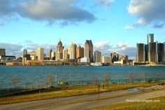 View of Detroit  from Windsor...we took the kids here when they were small.  Great road trip!