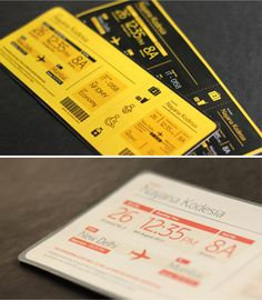 The Boarding Pass on Behance