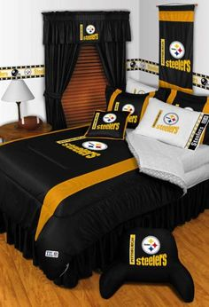 Nice Pittsburgh Steelers #NFL Bedding Sets
