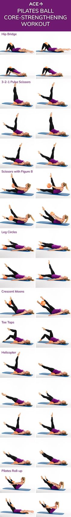 The Pilates Ball Core-Strengthening Workout