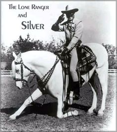 """The Lone Ranger's horse """"Silver"""" was a Lipizzaner. <<<<<< Loved The Lone Ranger growing up. I often call my horse Big Fella, just like the Lone Ranger called Silver. Beautiful Horses, Animals Beautiful, Pretty Horses, Tennessee Walking Horse, The Lone Ranger, Tv Westerns, Western Movies, Old Tv Shows, Le Far West"""