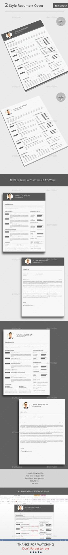 The CV Template PSD #design Download: http://graphicriver.net/item/the-cv/13653479?ref=ksioks